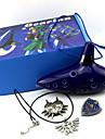 Plus d'accessoires Inspiré par The Legend of Zelda Cosplay Anime/Jeux Vidéo Accessoires de Cosplay Plus d'accessoires Bleu EncreMasculin