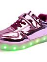 Garçon Fille-Extérieure Décontracté Sport Soirée & Evénement-Violet Argent Or-Talon Plat-Confort Nouveauté Light Up Chaussures-Baskets-