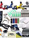 stor tatuering kit tre roterande maskin ny design power box