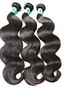 """3st / lot 8 """"-30"""" jungfruligt indiskt hår förkroppsligar vinkar människohår väver"""