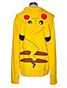 Kigurumi Pyjamas pika pika Huvtröja Festival/Högtid Animal Sovplagg Halloween Gul Lappverk Bomull Kigurumi För Unisex Halloween