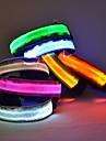Chat / Chien Colliers Lampe LED / Ajustable/Réglable Rouge / Vert / Bleu / Jaune Nylon