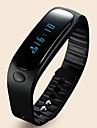 E02 Smart armband Aktivitetsmonitor Smart klocka ArmbandVattenavvisande Stegräknare Röstmeddelande Alarmklocka Pekskärm Tidtagarur Ljud