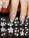 Blomma-Finger-3D Nagelstickers- avPVC-1sheet- styck14cm*6cm- cm