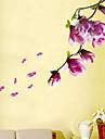 Blommig Landskap Väggklistermärken Väggstickers Flygplan Dekrativa Väggstickers Material Kan tas bort Hem-dekoration vägg~~POS=TRUNC