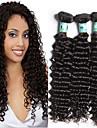 3st 8-30inches msbeauty klass 5a malaysianen vinkar djupt jungfru hår 100% människohår