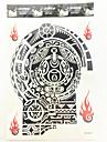 #(1) Tatouages Autocollants Séries de totem Motif ImperméableFemme Adulte Mâle Tatouage Temporaire Tatouages temporaires