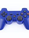 double-choc contrôleur sans fil bluetooth 3 pour PS3 (noir)