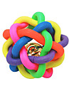 Kattleksak Hundleksak Husdjursleksaker Boll Tuggleksaker Trumpet Asymmetrisk leksak Multifärgad Gummi