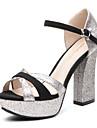 aokang® kvinnors läder sandaler - 132811005