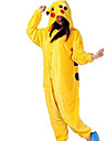 Kigurumi Pyjamas pika pika Leotard/Onesie Festival/Högtid Animal Sovplagg Halloween Gul Djurmönster Flanell Kigurumi För UnisexHalloween