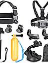 Accessoires pour GoProMonopied / Trépied / Vis / Buoy / Grande Fixation Ventouse Caméra Sportive / Avec Bretelles / Accessoires Kit /