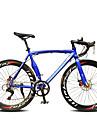 Vélo Route Cyclisme 14 Vitesse 26 pouces/700CC SHIMANO TX30 Frein à Double Disque Ordinaire Mono poutre OrdinaireAcier en alliage
