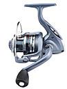 Moulinet pour pêche Moulinet spinnerbaits 5.5:1 6 Roulements à billes EchangeablePêche en mer Pêche d'appât Pêche sur glace Pêche aux