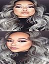 3st / lot billig bästa brasilianska jungfru hårweften väver kroppen våg 1b / grå ombre hår silvergrå hårförlängningar