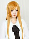 Perruques de Cosplay Sword Art Online Asuna Yuuki Orange Longue Droite Manga Perruques de Cosplay 80 CM Fibre résistante à la chaleur