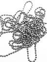 Steel Ball Chain nageldekorationer (1m, blandade färger)