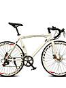 Road Bikes Cykelsport 14 Hastighet 26 tum/700CC 60mm Herr / Kvinnors / Unisex SHIMANO TX-30 Dubbel skivbroms Vanlig Monocoque Vanlig