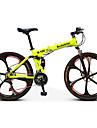 Mountainbikes Hopfällbar Cykel Cykelsport 21 Hastighet 26 tum/700CC Unisex Vuxen Herr Unisex barn SHIMANO EF-51-8 Dubbel skivbroms