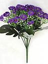"""11.1 """"l ensemble de 1 confortables fleurs en tissu de soie d'orchidées"""