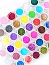 45pcs couleur de mélange nail art poudre acrylique nail art décoration