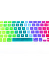 """coosbo® färgglada silikon tangentbord skyddskåpa hud för 11 """", 13"""", 15 """", 17"""" mac MacBook Air pro näthinnan"""