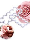 Coupe Gâteau Fleur Pour Gâteau For Chocolate Pour Tarte Pour Cookie Plastique Ecologique Haute qualité La Saint Valentin