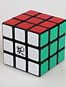 Dayan® Slät Hastighet Cube 3*3*3 Magiska kuber Svart Blekna Zhanchi Anti-pop / justerbar fjäder ABS