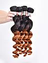 A Ombre Cheveux Brésiliens Ondulation Lâche tissages de cheveux