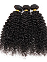 Tissages de cheveux humains Cheveux Péruviens Très Frisé 6 Mois 3 Pièces tissages de cheveux