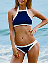Femei Bikini Femei Cu Susținere Monocolor / Mulată Push-up Nailon