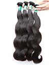 Tissages de cheveux humains Cheveux Malaisiens Ondulation naturelle 4 Pièces tissages de cheveux