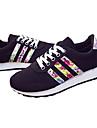 Pantofi pentru femei - Țesătură - Toc Jos - Confortabili - Teniși la Modă - Outdoor / Casual - Negru / Albastru
