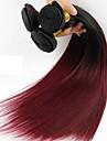 1 st. Ret Human Hair vävar Brasilianskt hår Human Hair vävar Ret