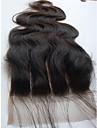4x4 de dentelle de cheveux vierge fermeture supérieure brésilien vague de corps 3 partie 10inch