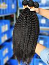 Tissages de cheveux humains Cheveux Brésiliens Droit 12 mois 3 Pièces tissages de cheveux