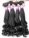 Tissages de cheveux humains Cheveux Brésiliens Ondulé 12 mois 4 Pièces tissages de cheveux