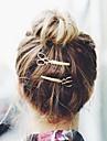 Femei Aliaj Diadema-Ocazie specială Informal Exterior Agrafă Clipuri de Păr Ac de Păr 2 Piese