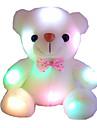 nya uppstoppade djur färgglada bländande ljus bära docka leksaker