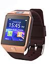 dz09 mtk6261 1,56 tum bluetooth smart klocka stöd SIM-kort bärbara enheter Smartwatch