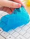 la boue de nettoyage de la poussière de clavier cyber haute magie super propre gel nettoyant visqueux (couleur aléatoire)