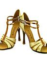 latin anpassnings kvinnors sandaler sparkling glitter dansskor (fler färger)
