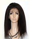brésilien dentelle complète crépus droite pleine perruque de dentelle 120% de la densité de -130% sans colle cheveux humains non