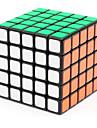 Shengshou® Cube de Vitesse  5*5*5 Vitesse Niveau professionnel Cubes magiques Noir Autocollant lisse ressort réglable ABS