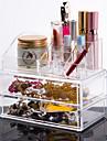 Rangement pour Maquillage Boîte de maquillage Rangement pour Maquillage Plastique Acrylique Couleur Pleine 18.5*10*15.5 cm Transparents