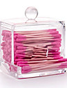 Rangement pour Maquillage Boîte de maquillage Rangement pour Maquillage Acrylique Couleur Pleine 9.5x7.5x9.8
