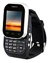 """w1 ≤3 """" Other Montre téléphone (SIM Simple Autre 0.8 MP <256MB + Autre Noir Blanc)"""