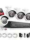 annke® 4ch hdmi 960p NVR système de sécurité cctv vue à distance (qr code scan, un accès rapide)