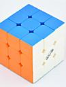Qiyi® Cube de Vitesse  3*3*3 Vitesse Niveau professionnel Cubes magiques Arc-en-ciel guerrier Anti-pop ressort réglable ABS