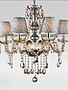 40W Ljuskronor ,  Modern / Traditionell/Klassisk / Vintage Elektropläterad Särdrag for Kristall GlasLiving Room / Bedroom / Dining Room /